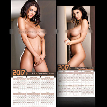 Alice Goodwin [ # 445-MC ] COLLECTIBL​E MIN-CALEND​AR 2017