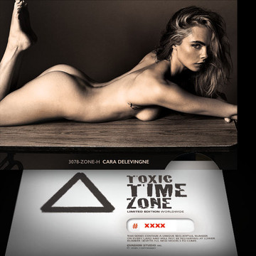 Cara Delevingne / Regeneration [ # 3078-ZONE-H ] - TOXIC TIME ZONE - NUMBERED