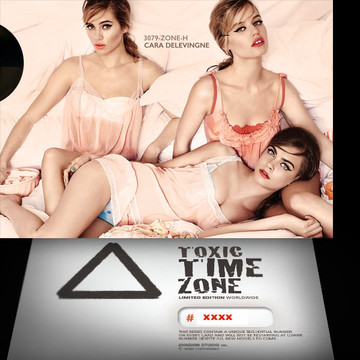 Cara Delevingne / Multiply [ # 3079-ZONE-H ] - TOXIC TIME ZONE - NUMBERED