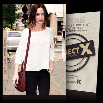Emily Blunt / In White [ ID: K205 #XX ] PROJECT X LIMITED EDITION CARDS
