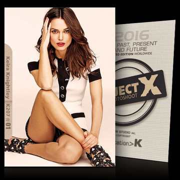 Keira Knightley / In White [ ID: K207 #XX ] PROJECT X LIMITED EDITION CARDS