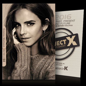 Emma Watson / Passion [ ID: K210 #XX ] PROJECT X LIMITED EDITION CARDS