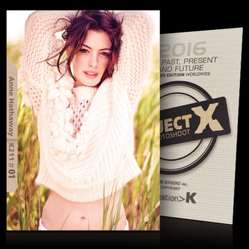 Anne Hathaway / In White [ ID: K211 #XX ] PROJECT X LIMITED EDITION CARDS