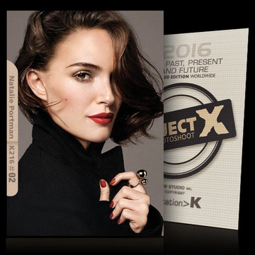 Natalie Portman / In Black [ ID: K216 #XX ] PROJECT X LIMITED EDITION CARDS