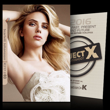 Scarlett Johansson / Younger [ ID: K217 #XX ] PROJECT X LIMITED EDITION CARDS