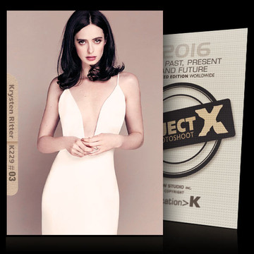 Krysten Ritter / In White [ ID: K229 #XX ] PROJECT X LIMITED EDITION CARDS