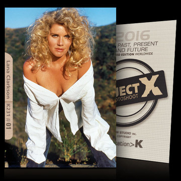 Lana Clarkson / In White Shirt [ ID: K231 #XX ] PROJECT X LIMITED EDITION CARDS