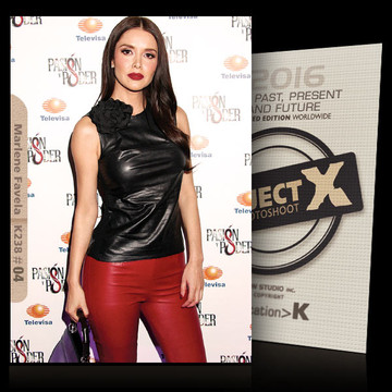 Marlene Favela / Black - Red [ ID: K238 #XX ] PROJECT X LIMITED EDITION CARDS