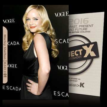 Marley Shelton / The Event [ ID: K243 #XX ] PROJECT X LIMITED EDITION CARDS