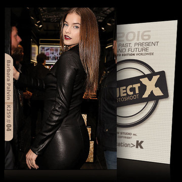 Barbara Palvin / In Black [ ID: K259 #XX ] PROJECT X LIMITED EDITION CARDS