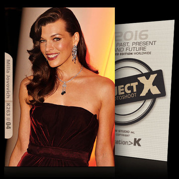 Milla Jovovich / Hot Smile [ ID: K263 #XX ] PROJECT X LIMITED EDITION CARDS