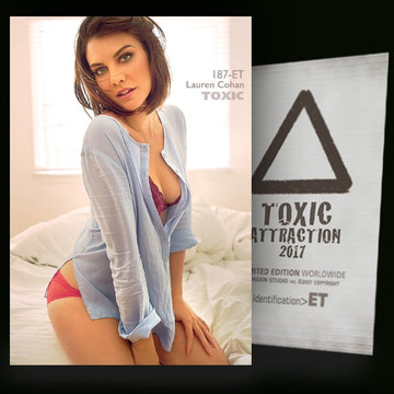 Lauren Cohan / Passion Of Light [ # 187-ET ] TOXIC ATTRACTION cards