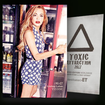Lindsay Lohan / The Depanneur [ # 190-ET ] TOXIC ATTRACTION cards