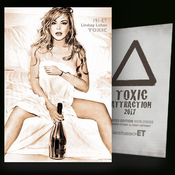 Lindsay Lohan / White Angel [ # 191-ET ] TOXIC ATTRACTION cards