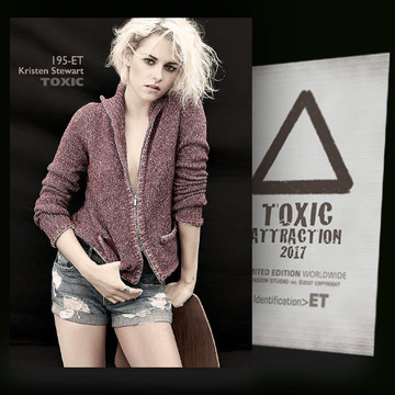 Kristen Stewart / Complicate​d Night [ # 195-ET ] TOXIC ATTRACTION cards