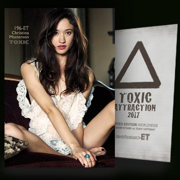Christina Masterson / Sensation [ # 196-ET ] TOXIC ATTRACTION cards