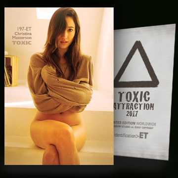Christina Masterson / Sensation Vol.2 [ # 197-ET ] TOXIC ATTRACTION cards