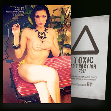 Adrianne Curry / Uncleared [ # 205-ET ] TOXIC ATTRACTION cards