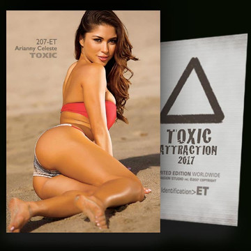 Arianny Celeste / Hot Photo Angle [ # 207-ET ] TOXIC ATTRACTION cards