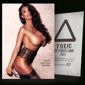 Chloe Khan / Authorization [ # 234-ET ] TOXIC ATTRACTION cards