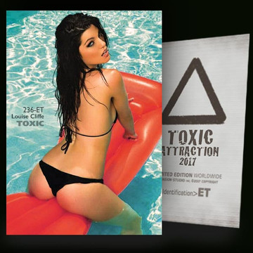 Louise Cliffe / Personal Activity - In Pool [ # 236-ET ] TOXIC ATTRACTION cards