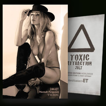 Hannah Ferguson / Reflection [ # 244-ET ] TOXIC ATTRACTION cards