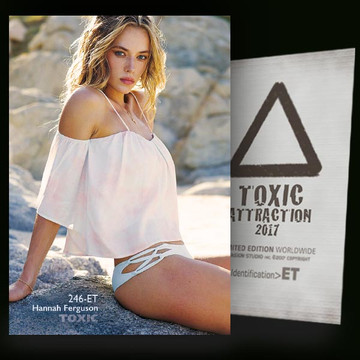 Hannah Ferguson / Hidden Rocks [ # 246-ET ] TOXIC ATTRACTION cards