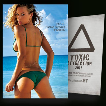 Hannah Ferguson / Beauty of the Beach [ # 247-ET ] TOXIC ATTRACTION cards
