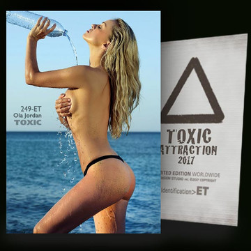 Ola Jordan / The Mineral Water [ # 249-ET ] TOXIC ATTRACTION cards