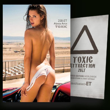 Alyssa Arce / Before The Race [ # 258-ET ] TOXIC ATTRACTION cards