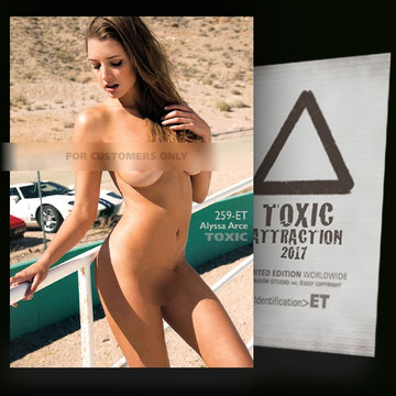 Alyssa Arce / Before The Race Vol.2 [ # 259-ET ] TOXIC ATTRACTION cards