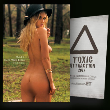 Paige Marie Evans / Wild Forest [ # 262-ET ] TOXIC ATTRACTION cards