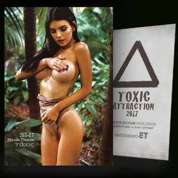 Nicole Thorne / Into the Wild[ # 265-ET ] TOXIC ATTRACTION cards