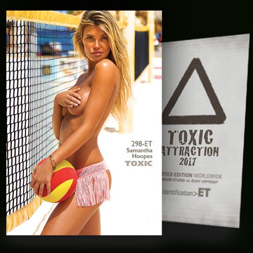Samantha Hoopes / In Action [ # 298-ET ] TOXIC ATTRACTION cards