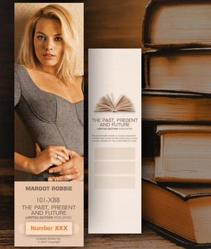 Margot Robbie [ # 101-XBB ] Bookmarks for Books - Limited
