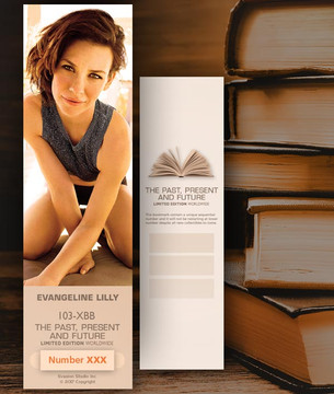 Evangeline Lilly [ # 103-XBB ] Bookmarks for Books - Limited