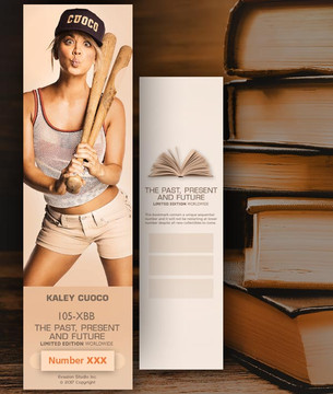 Kaley Cuoco [ # 105-XBB ] Bookmarks for Books - Limited