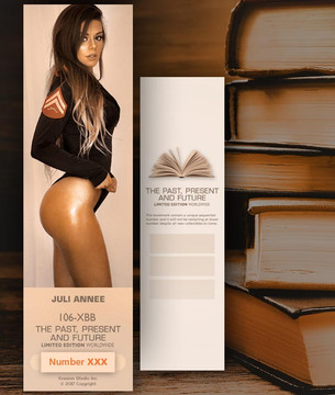 Juli Annee [ # 106-XBB ] Bookmarks for Books - Limited