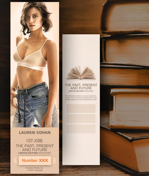 Lauren Cohan [ # 107-XBB ] Bookmarks for Books - Limited