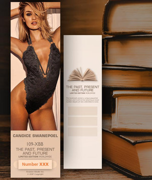 Candice Swanepoel [ # 109-XBB ] Bookmarks for Books - Limited