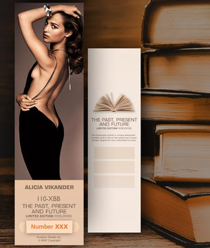 Alicia Vikander [ # 110-XBB ] Bookmarks for Books - Limited