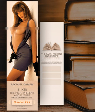 Racquel Darian [ # 111-XBB ] Bookmarks for Books - Limited