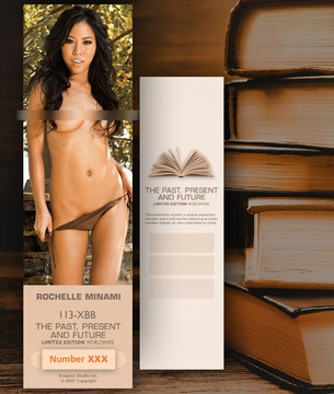 Rochelle Minami [ # 113-XXB ] Bookmarks for Books - Limited