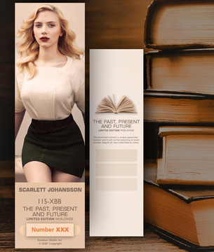 Scarlett Johansson [ # 115-XXB ] Bookmarks for Books - Limited