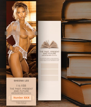 Sheena Lee [ # 116-XXB ] Bookmarks for Books - Limited