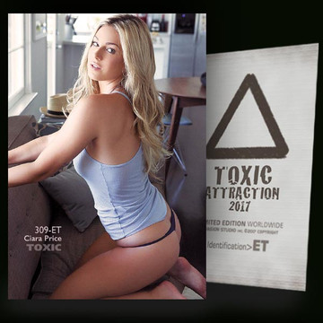 Ciara Price / Near Window [ # 309-ET ] TOXIC ATTRACTION cards