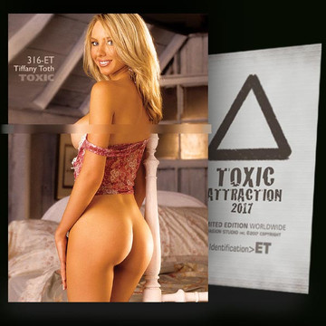 Tiffany Toth / Secret Spot [ # 316-ET ] TOXIC ATTRACTION cards