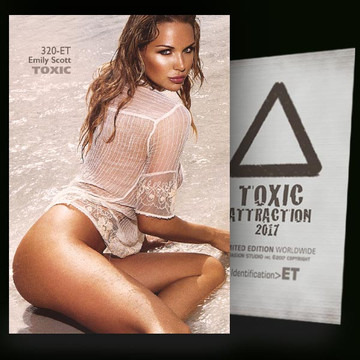 Emily Scott /  Beautiful Beach [ # 320-ET ] TOXIC ATTRACTION cards