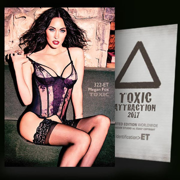 Megan Fox / Hot And Attractive Vol-02 [ # 322-ET ] TOXIC ATTRACTION cards