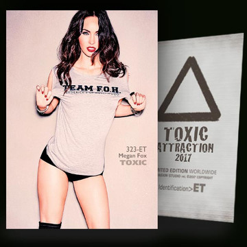 Megan Fox / Hot And Attractive Vol-03 [ # 323-ET ] TOXIC ATTRACTION cards